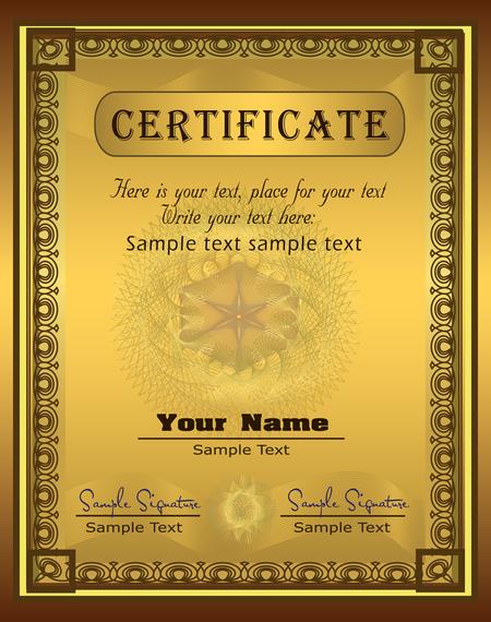Doc590413 Acknowledgement Certificate Templates 12 – Acknowledgement Certificate Templates