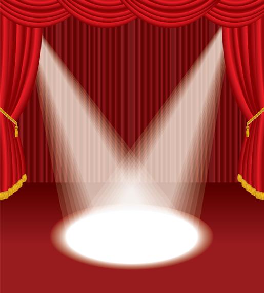 Vetor de palco 3