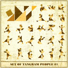 Vetor de Tangram 02