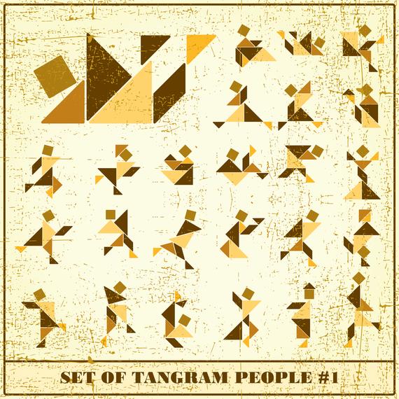 Tangram 02 Vector
