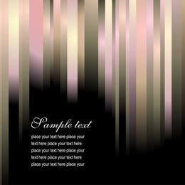 Brilliant Color Stripes 05 Vector