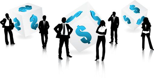 Theme Of Vector Business People