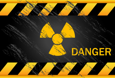 Nuclear Warning Signs 05 Vector