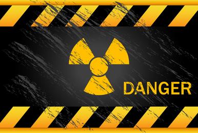 Vetor de sinais de aviso nuclear 05