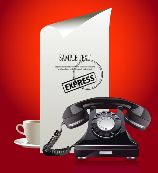 Phone Theme Vector