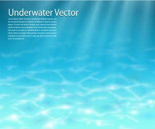 Vetor de água clara