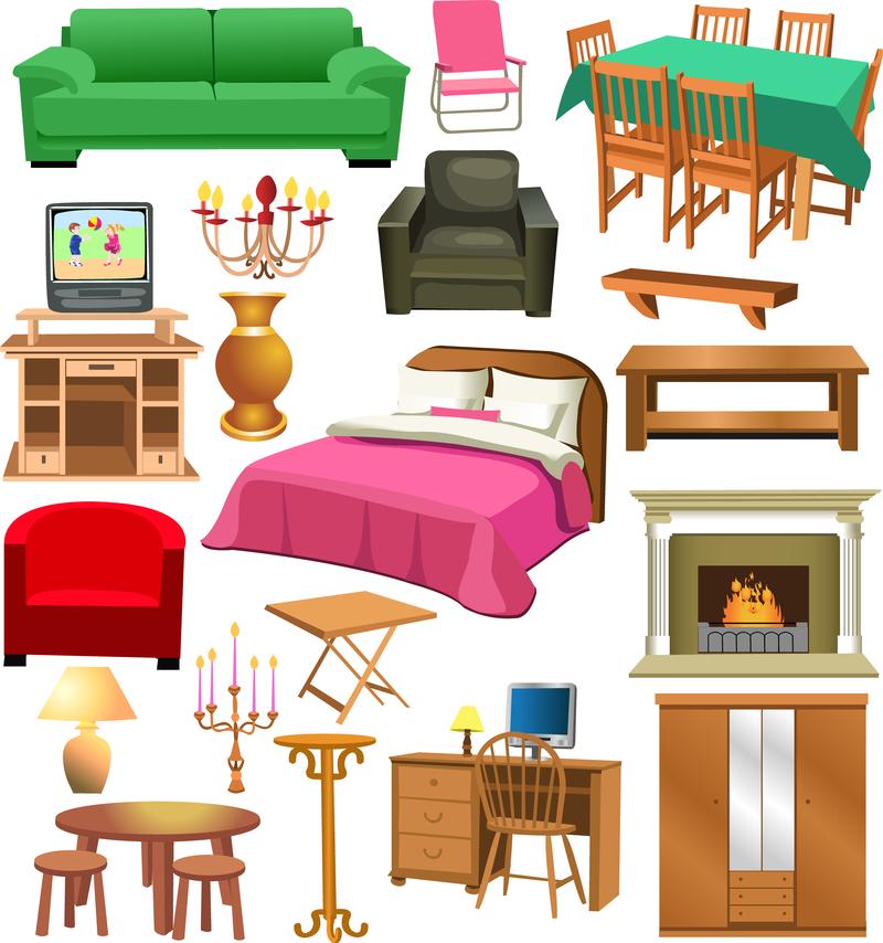 Furniture Clip Art: A Variety Of Furniture Clip Art