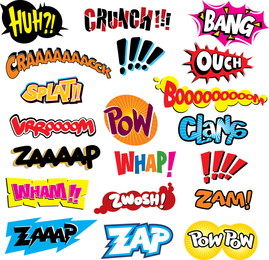 Comics Word Vector