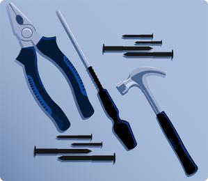 Herramientas de mantenimiento 03 Vector