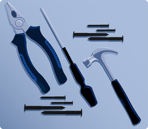 Maintenance Tools 03 Vector