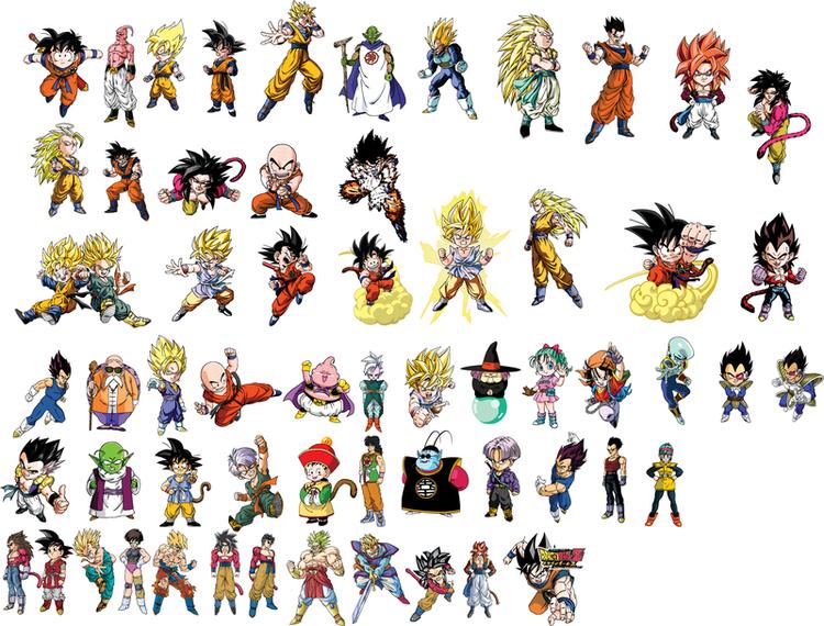 Dragon Ball Character Vector