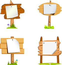 Board Signs Vector 5