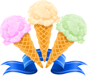 Popsicles And Cones Vector