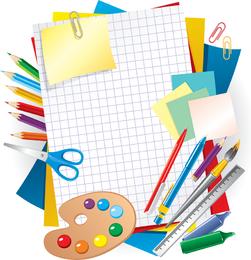 Aprendizaje de diseño de papelería.
