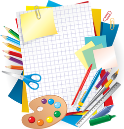 Learning stationery design