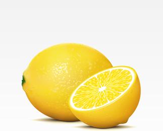 Limão 3D hiper realista