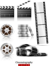 Vector de negativos de película