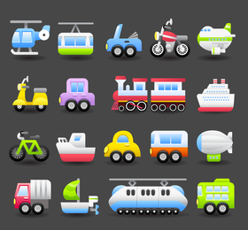 1 Vector Cute Transport