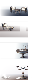European Classical Vector 2 Household Items