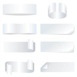 Vector White Box U0026amp cinta