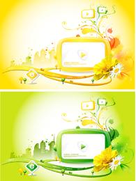 Vector Trend Of The Screen