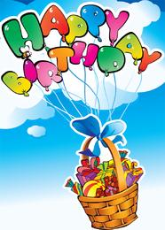 Alles Gute zum Geburtstag Vektor 2