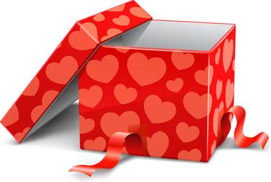 Vector de dos cajas de regalo