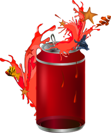 Cans Theme Vector