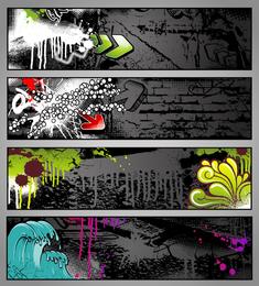 Tendencia de graffiti vector