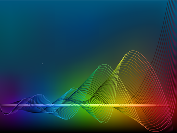 Bright Dynamic Flow Line 01 Vector