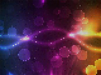 Arte de vector de puntos de semitono brillante