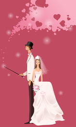 Wedding Vector Graphic 10