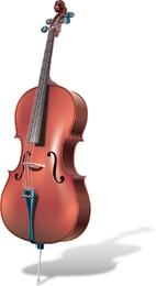 Vector de la guitarra y el violín