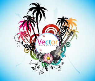 Music Theme Vector The Trend 3