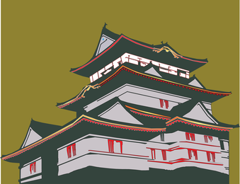 Japanese House Vector