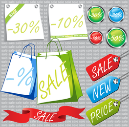 Sale Promotion Related To Vector