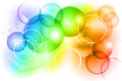 Farb-Bokeh-Vektorgrafiken
