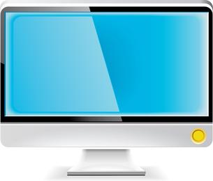 Monitor lcd vector