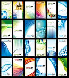 24 Vector Dynamic Card Templates