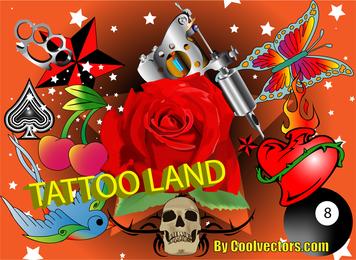 Tattoo Vectors Pack
