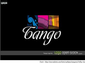 Tango Logo con símbolos