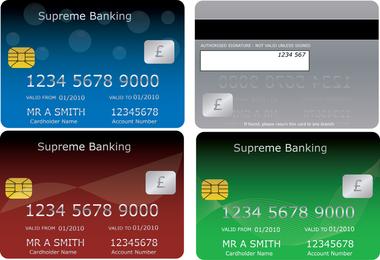 Conjunto de Cartões Bancários