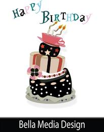 Pastel de cumpleaños loco
