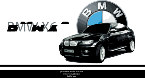 BMW X6 Design 3D