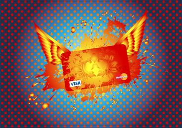 Cartão de crédito Visa Mastercard