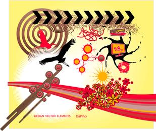 Elementos gráficos de design