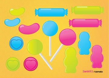 Lutscher Bonbons Süßigkeiten