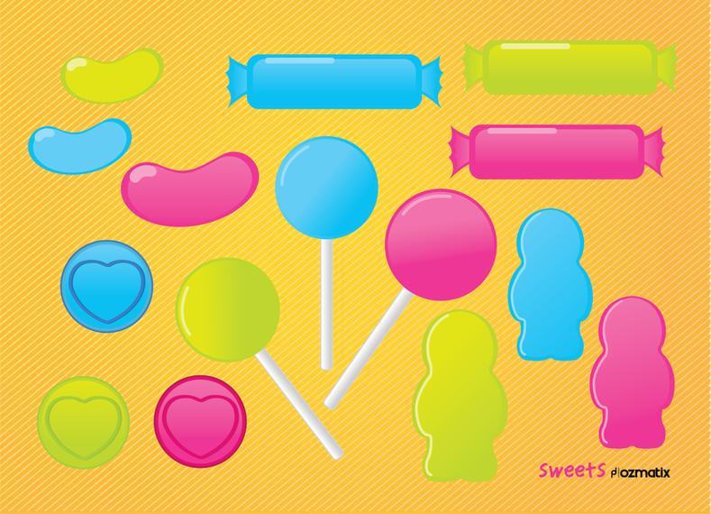 Lollipop Sweets Candy