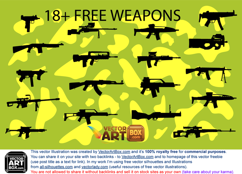 18 Free Weapons