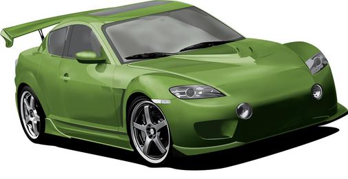 Mazda Rx8 Meshing It Up